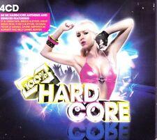 100% HARDCORE -4X CDS 60 UNMIXED TRACKS ! HAPPY HARDCORE RAVE OLDSKOOL CDJ CD DJ