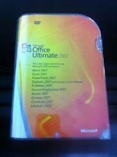 Microsoft Office Ultimate 2007, Englisch, Retail Vollversion mit MwSt Rechnung