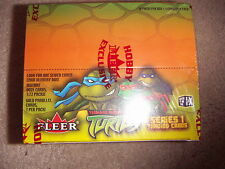 Teenage Mutant Ninja Turtles TMNT 1 Full Box Series 1 Trading Cards by FLEER