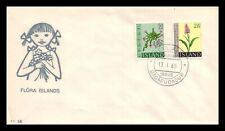 Iceland 1968 FDC, Flowers IV. Lot # 14.