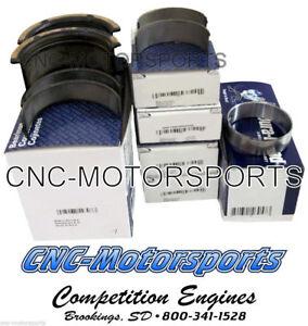 SB Chevy 350 Clevite Main Rod Cam Bearings Combo CB663HN-20 MS909H-20 CHP-8