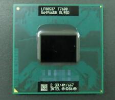 1PC Intel Core 2 Duo T7600 2.33 GHz Dual-Core (BX80537T7600) Processor Test ok