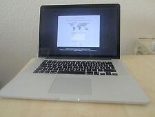 """Macbook Pro 15"""" Retina Core I7 4. Gen, Ende 2013 256GB SSD sehr guter Zustand"""