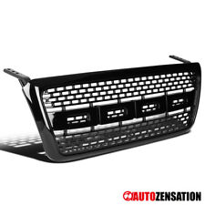 For 2004-2008 Ford F150 Truck Black Raptor Style Bumper Hood Grill Grille