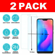 For Xiaomi Mi A2 Lite Genuine Protective Tempered Glass 9H Screen Film