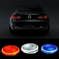 Rear Badge LED Background Light For BMW Car Tail Logo Emblem Sticker E46 E90 F30
