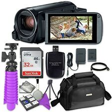 Canon VIXIA HF R800 Camcorder with Sandisk 32 GB SD Memory Card + Accessories