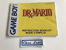 Notice - Dr Mario - Nintendo Game Boy - PAL FAH 1