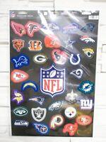 NFL Football Multi Aufkleber XL Decal Badge 32er Set alle Teams neu