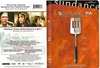 Scotland, PA (OOP RARE Authentic 2002 DVD) Christopher Walken, Maura Tierney
