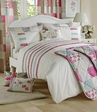 Luxury Petticoat Duvet Quilt Cover Set Double King Super King Bed Linen Bedspread 240 X 260 Cm