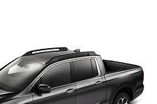 2017 - 2019 HONDA RIDGELINE ROOF RAILS BLACK OEM
