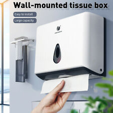 Washroom Paper Towel Dispenser Commercial Home Use Durable C Fold Wall Mounted