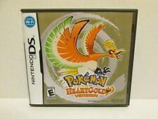 Pokemon HeartGold Version Nintendo DS Replacement Case & Artwork - NO GAME