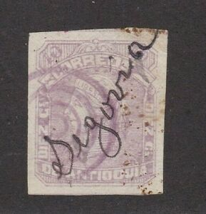 Antioquia Colombia States 42a Wove Paper CV $80 Campamento and Target Cancel