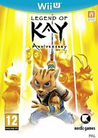 Legend of Kay Anniversary For PAL Wii U (New & Sealed)
