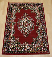 Cheap Budget red traditional persian oriental rug small hall runner 60x225cm