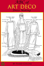 ABC of Art Deco Dress Making Printable 140 Pgs of Designs and Instructions On CD