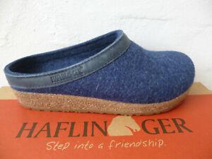 Haflinger Slippers Blue Torben 713001 New