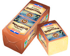 Tilsiter Käse GvH Ascheberger Doppelrahm 60% Fett i.Tr. geschmiert 500g