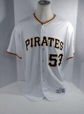 Joaquin Benoit GAME USED JERSEY Pittsburgh Pirates XXL 52 MLB Authentic Baseball