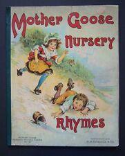 MOTHER GOOSE NURSERY Rhyme Series #737, ©1913 Donohue & Co., Frances Brundage