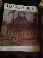 IDEAL HOME MARCH 1948 RIVISTA ORIGINALE VINTAGE ARREDAMENTO HOME GARDENING