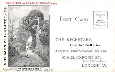 POSTCARD    ADVERTISING    PICTURE  CATALOGUE