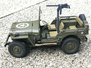 Battleground 1/12 MG and Mount for Rochobby Jeep