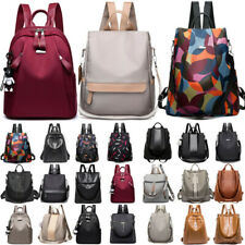 Unisex Women Men Anti-Theft Shoulder Bag Travel School Backpack Rucksack Satchel