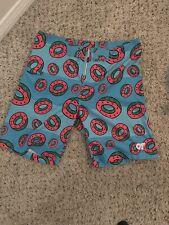 Odd Future OFWGKTA Wolf Gang Teal All Over Print Donut Board Swim Shorts Mens M