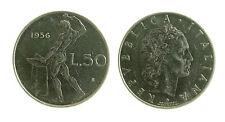 pcc2024_17) Italia Repubblica  - 50 Lire Vulcano 1956