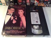 Dark Obsession Rare Thriller Drama VHS 1989 OOP HTF Byrne Amanda Donohoe