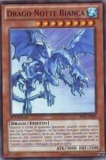 Drago Notte Bianca - White Night Dragon YU-GI-OH! BP02-IT083 Ita RARA MOSAICO 1E