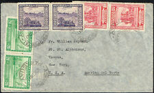 352 Paraguay To Us Air Mail Cover 1947 Asuncion - New York