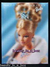 "Crystal Jubilee Barbie Doll 40th Anniversary Fashion with Swarovski Crystals F"""