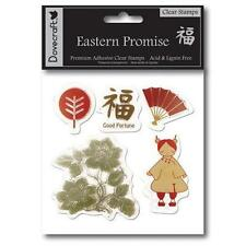 Tampons transparents Eastern Promise asiatique cartes scrapbooking clear stamps