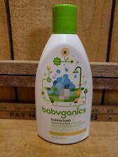 BabyGanics Bubble Bath Chamomile Verbena NON ALLERGENIC 9oz
