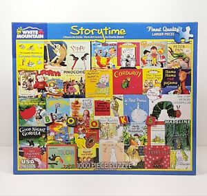 White Mountain Story Time Jigsaw Puzzle - 1000 Piece (1089)