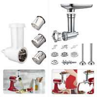 Food Grinder Slicer/Shredder Meat Stuffer Attachment  For KitchenAid Stand Mixer