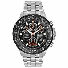 Citizen Eco-Drive Men's JY0000-53E Skyhawk Atomic World Time Alarm 46mm Watch