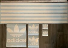 Decal sticker set For DIY Giant shoe box Adidas trainers Decals Stickers Only