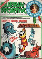 GUERIN SPORTIVO=N.1 1977 ANNO LXV=PANATTA SPORTIVO DELL'ANNO=UN ANNO DI SPORT