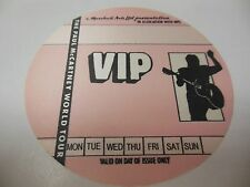 1989 PAUL MCCARTNEY CONCERT VIP BACKSTAGE PASS FLOWERS IN THE DIRT TOUR RARE