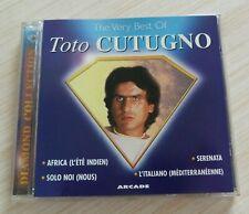 RARE CD ALBUM DIAMOND COLLECTION THE VERY BEST OF TOTO CUTUGNO 18 TITRES 1995