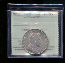 1908 Newfoundland 50 Cents ICCS AU55 DC111