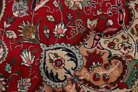 NEW One-of-a-Kind Floral Oriental Hand-Knotted Carpet 7x10 RED WOOL Area Rugs