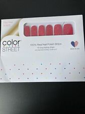 Color Street Nails - How Rome-antic - Glitter Magenta - Retired !