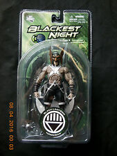 DC DIRECT GREEN LANTERN BLACKEST NIGHT BLACK LANTERN HAWKMAN ACTION FIGURE!