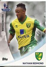 Premier Gold 13/14 Midfield Maestros Chase Card MM-NR Nathan Redmond
